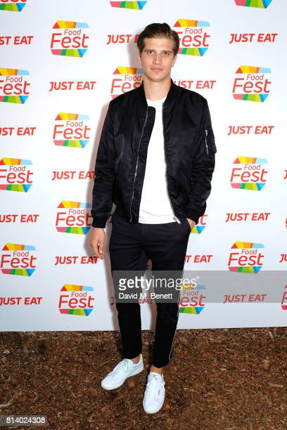 Toby HuntingtonWhiteley pictured at the VIP launch of Just Eat Food Fest Desert Island Dishes in Red Market London The threeday desert islandinspired...