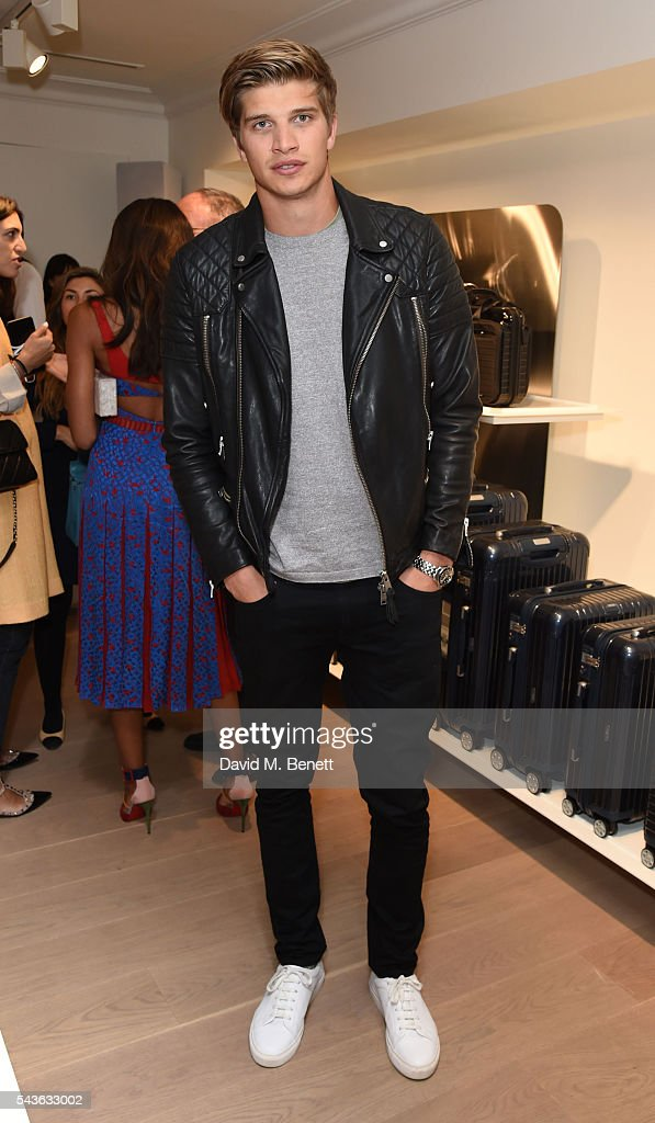 Toby Huntinton-Whiteley attends the RIMOWA London concept store VIP launch party on June 29, 2016 in London, England.
