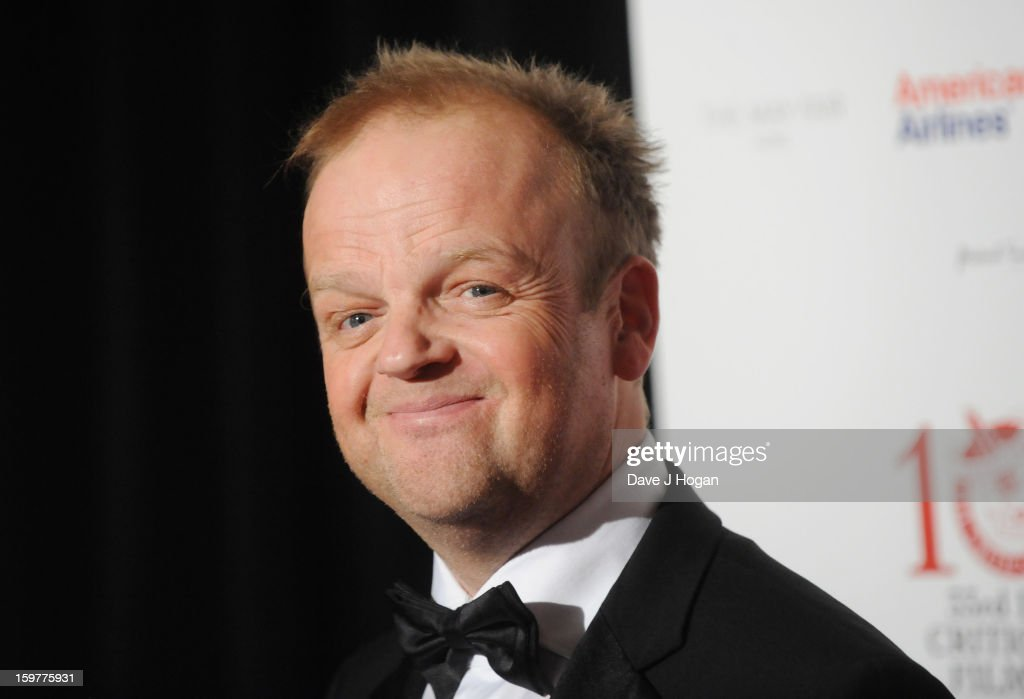 Toby Jones arrives for the London Film Critics Circle Film Awards at The Mayfair Hotel on January 20, 2013 in London, England.