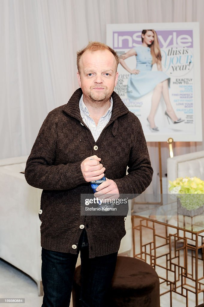 Toby Jones attends 2013 InStyle Beauty Lounge - Day 2 at Four Seasons Hotel Los Angeles at Beverly Hills on January 12, 2013 in Beverly Hills, California.