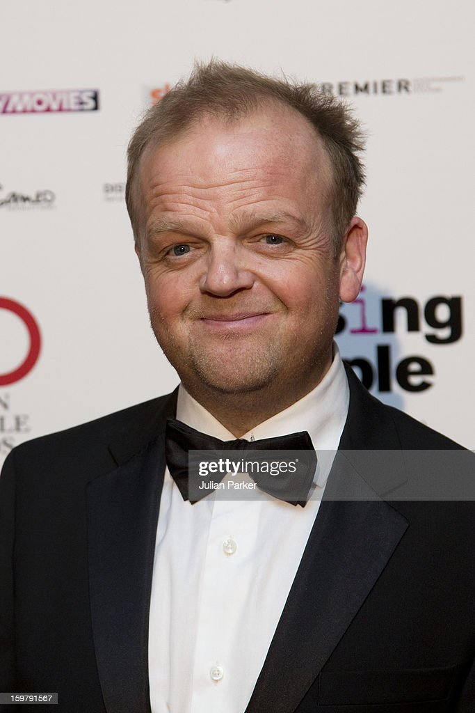 Toby Jones, attends the London Critics' Circle Film Awards, at The Mayfair Hotel on January 20, 2013 in London, England.