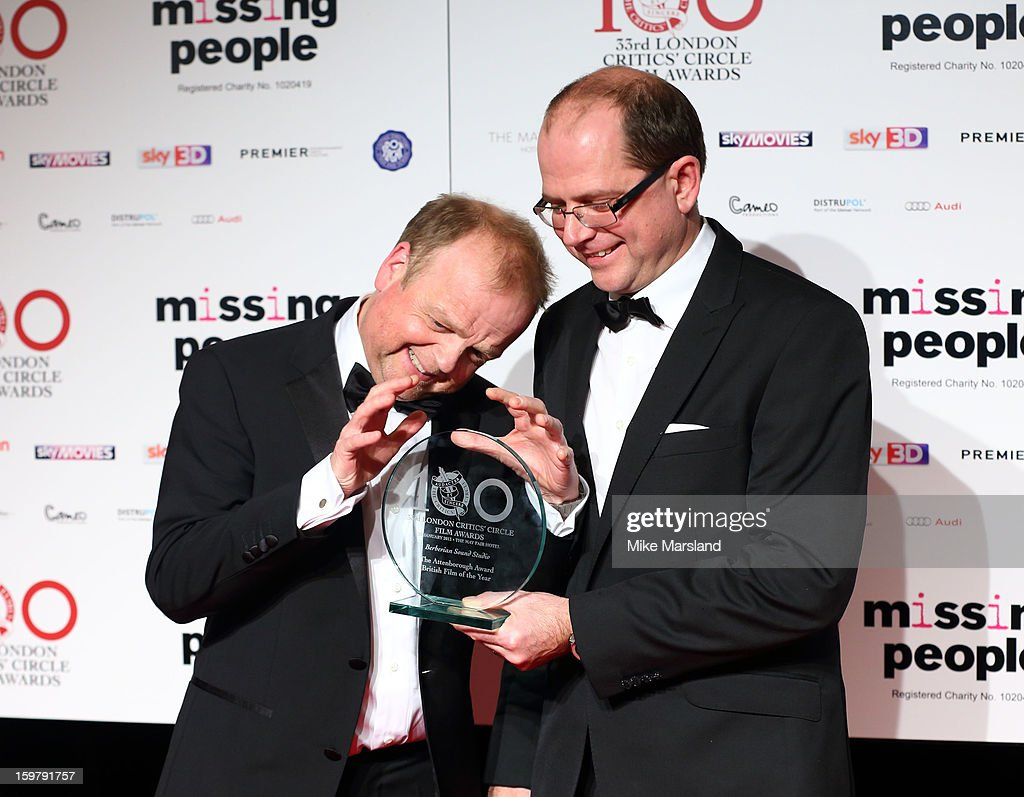 <a gi-track='captionPersonalityLinkClicked' href=/galleries/search?phrase=Toby+Jones&family=editorial&specificpeople=2394459 ng-click='$event.stopPropagation()'>Toby Jones</a> poses in the press room at the London Film Critics Circle Film Awards at The Mayfair Hotel on January 20, 2013 in London, England.
