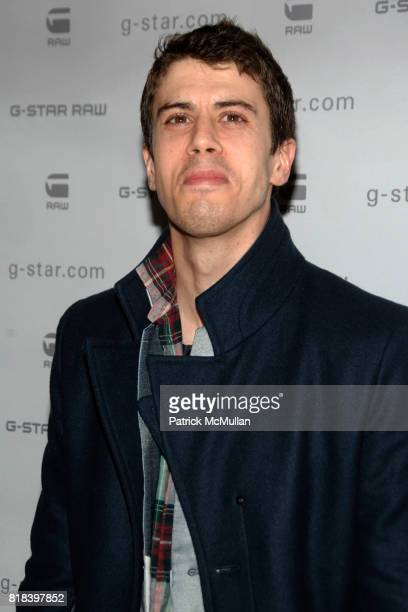 Toby Kebbell attends GSTAR RAW Presents NY RAW Fall/Winter 2010 Collection Arrivals at Hammerstein Ballroom on February 16 2010 in New York City