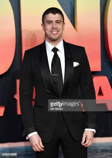 Toby Kebbell attends the European premiere of 'Kong Skull Island' at the Cineworld Empire Leicester Square on February 28 2017 in London United...