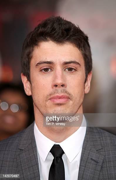 Toby Kebbell attends the European premiere of Wrath Of The Titans at BFI IMAX on March 29 2012 in London England
