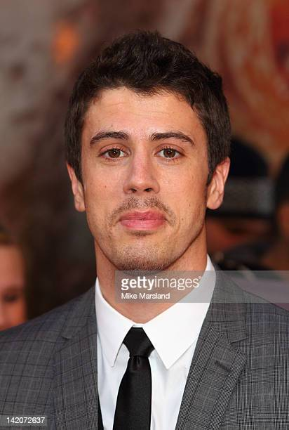 Toby Kebbell attends the European premiere of 'Wrath Of The Titans' at BFI IMAX on March 29 2012 in London England