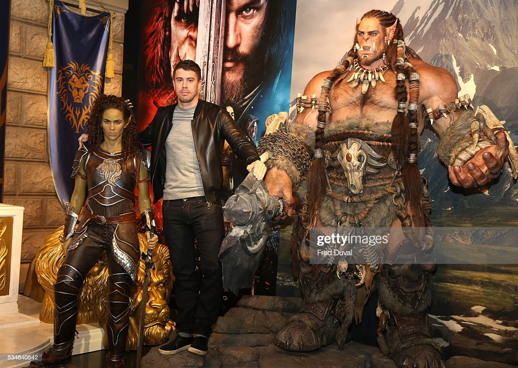Toby Kebbell attends the launch of the Warcraft Experience at Madame Tussauds on May 27, 2016 in London, England.