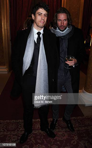 Toby Kebbell attends the Miu Miu store launch dinner to celebrate the opening of the new Miu Miu boutique on Bond Street at Lancaster House on...