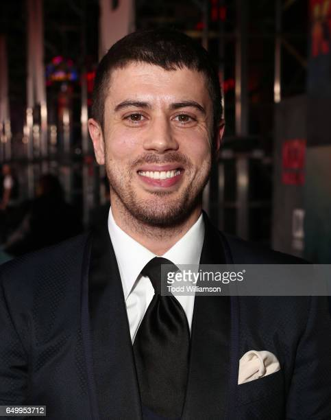 Toby Kebbell attends the premiere of Warner Bros Pictures' 'Kong Skull Island' at Dolby Theatre on March 8 2017 in Hollywood California