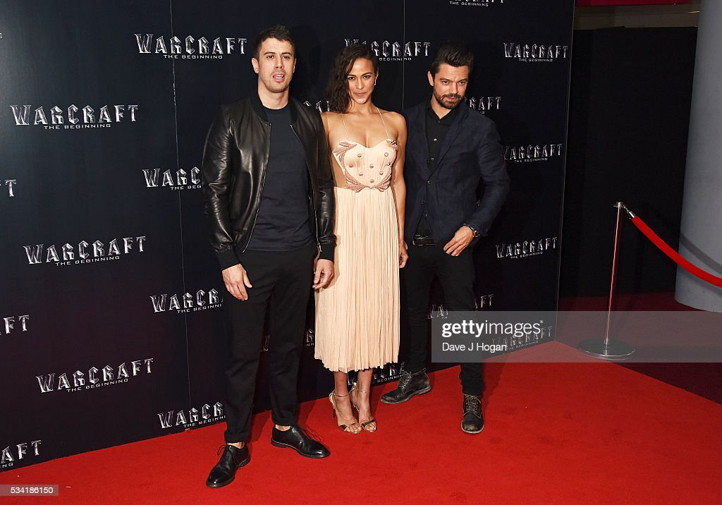 <a gi-track='captionPersonalityLinkClicked' href=/galleries/search?phrase=Toby+Kebbell&family=editorial&specificpeople=4461792 ng-click='$event.stopPropagation()'>Toby Kebbell</a>, <a gi-track='captionPersonalityLinkClicked' href=/galleries/search?phrase=Paula+Patton&family=editorial&specificpeople=752812 ng-click='$event.stopPropagation()'>Paula Patton</a> and <a gi-track='captionPersonalityLinkClicked' href=/galleries/search?phrase=Dominic+Cooper&family=editorial&specificpeople=863047 ng-click='$event.stopPropagation()'>Dominic Cooper</a> attend a special screening of 'Warcraft: The Beginning' at BFI IMAX on May 25, 2016 in London, England.