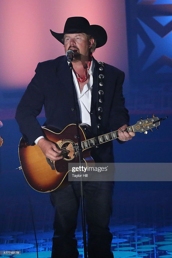 Toby Keith speaks during the Songwriters Hall Of Fame 46th Annual Induction And Awards at Marriott Marquis Hotel on June 18 2015 in New York City