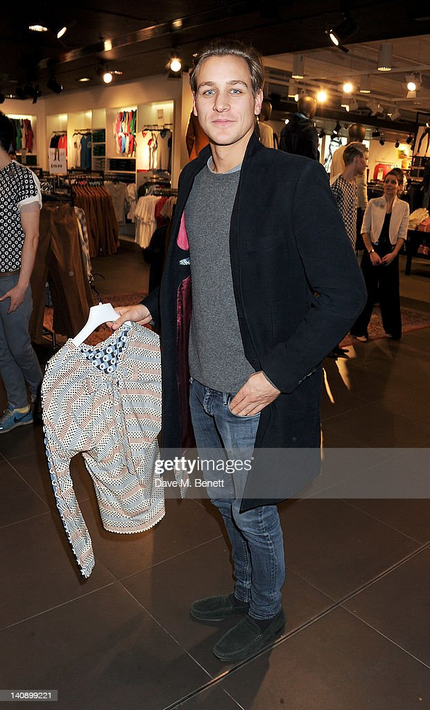 Toby Knott attends the launch of Italian fashion house Marni's collection for H&M at H&M Regent Street on March 7, 2012 in London, England.