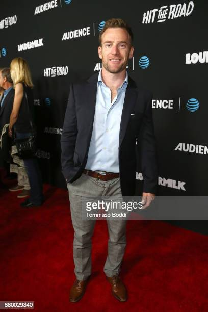 Toby Levins attends the ATT AUDIENCE Network Premieres 'Loudermilk' And 'Hit The Road' on October 10 2017 in Los Angeles California