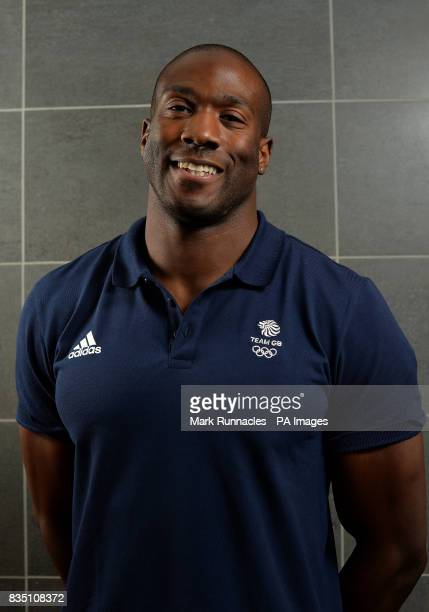Toby Olubi during the PyeongChang 2018 Olympic Winter Games photocall at Heriot Watt University Oriam