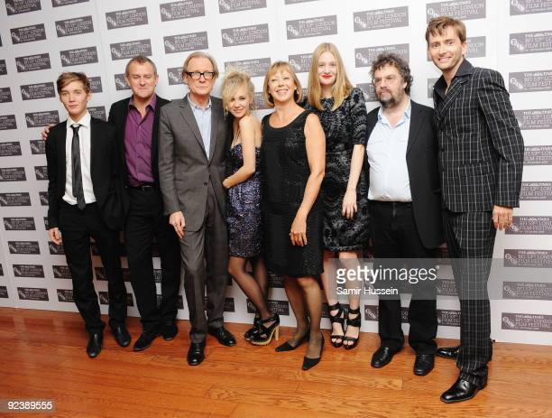Toby Regbo Hugh Bonneville Bill Nighy Juno Temple Jenny Agutter Romola Garai Stephen Poliakoff and David #Tennant attend the 'Glorious 39' premiere...