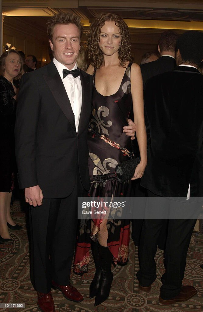 Toby Richards And Girlfriend, The Evening Standard Film Awards, At The Savoy Hotel In London