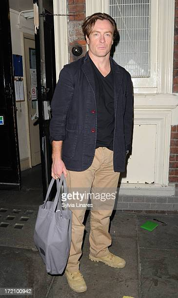Toby Stephens leaving Gielgud Theatre on July 1 2013 in London England