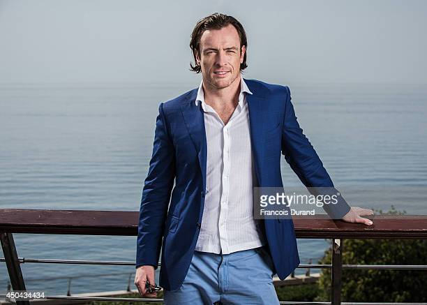 Toby Stephens poses during a portrait session at Grimaldi Forum on June 10 2014 in Monaco Monaco