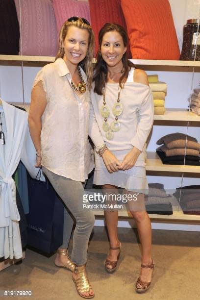 Toby Tucker and Liz Cohen attend CARLOS FALCHI JEFFREY THORPE Host A TwoDay Presentation at Magaschoni on July 23 2010 in Southampton NY