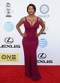 Toccara Jones attends the 47th NAACP Image Awards at Pasadena Civic Auditorium on February 5 2016 in Pasadena California