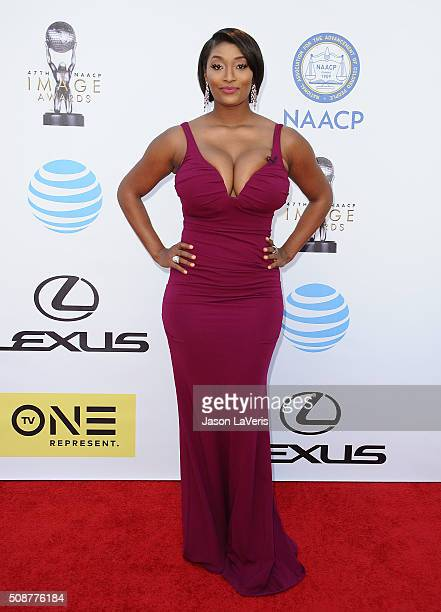 Toccara Jones attends the 47th NAACP Image Awards at Pasadena Civic Auditorium on February 5 2016 in Pasadena California