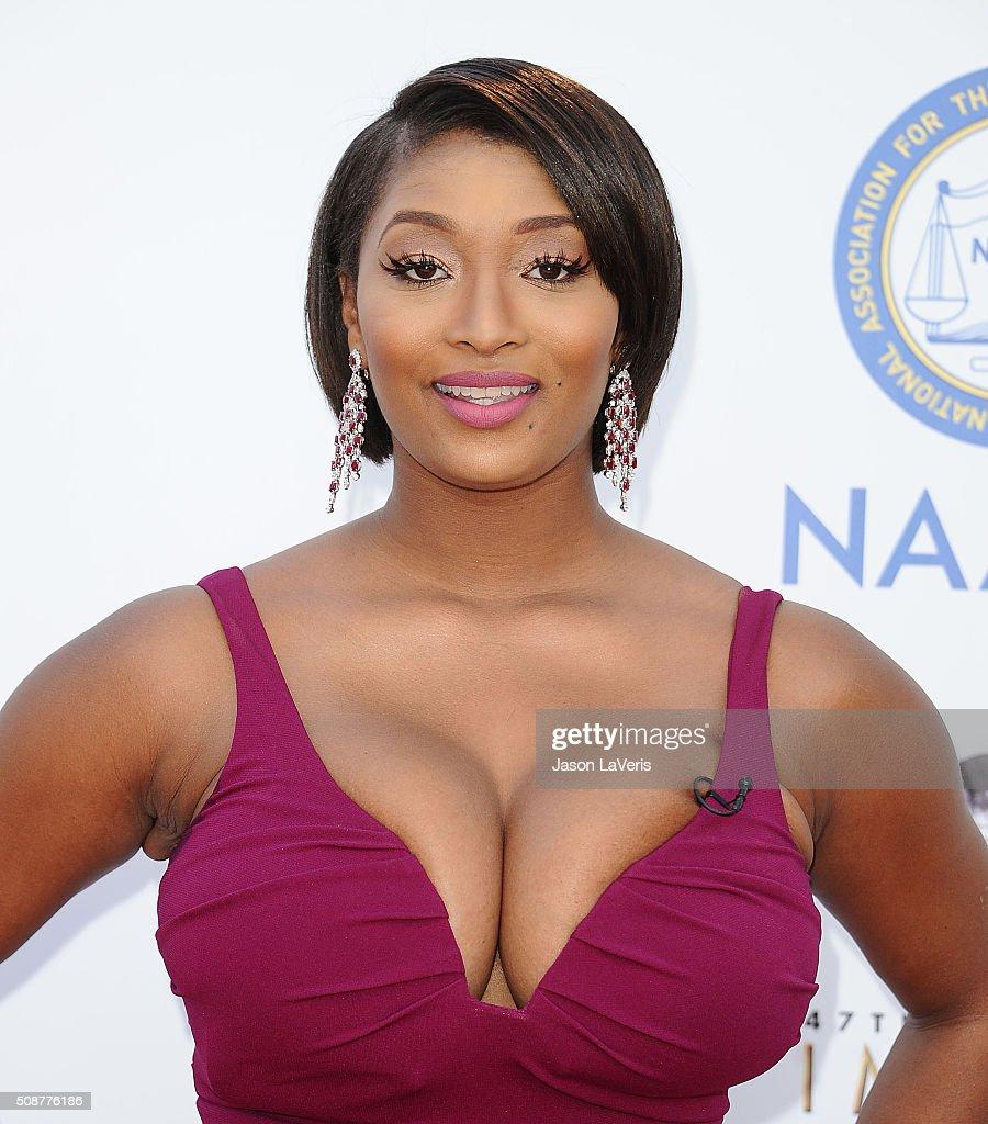 Toccara Jones attends the 47th NAACP Image Awards at Pasadena Civic Auditorium on February 5, 2016 in Pasadena, California.