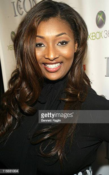 Toccara Jones during Def Jam Interactive and Electronic Arts Celebrate the Release of 'Def Jam ICON' at Ultra in New York New York United States