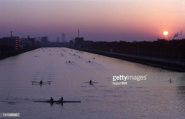 Toda Olympic boat course at dawn