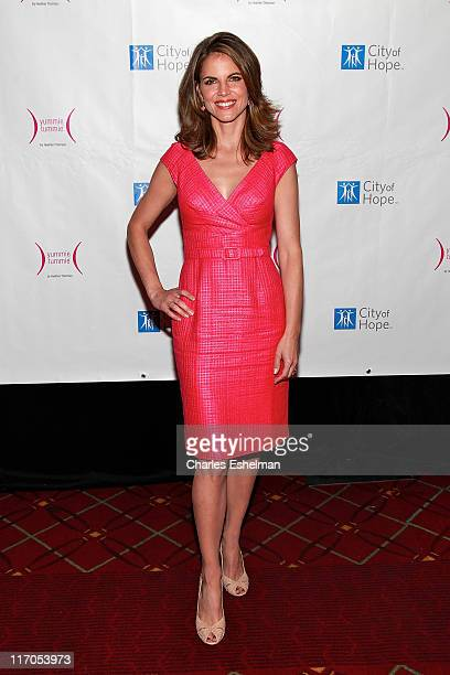 Today coanchor Natalie Morales attends The City of Hope's 'Spirit of Life' Women of the Year Award luncheon at The Waldorf Astoria on April 26 2010...