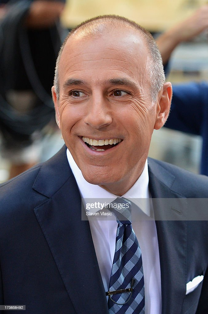 'Today' host <a gi-track='captionPersonalityLinkClicked' href=/galleries/search?phrase=Matt+Lauer&family=editorial&specificpeople=206146 ng-click='$event.stopPropagation()'>Matt Lauer</a> visits NBC's TODAY Show on July 18, 2013 in New York City.