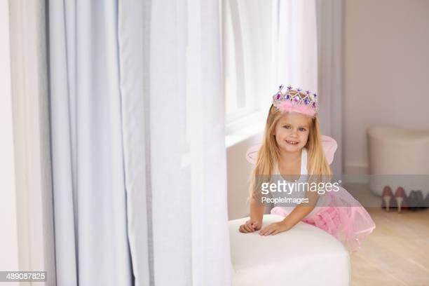 Today I'm a fairy princess