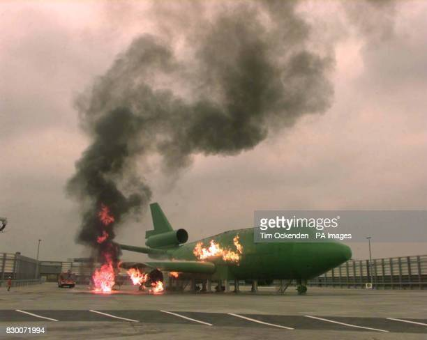 BAA today launched at Heathrow Airport their State of the Art Fire Training Simulator which is a full size replica of a Boeing 747 with a McDonnell...