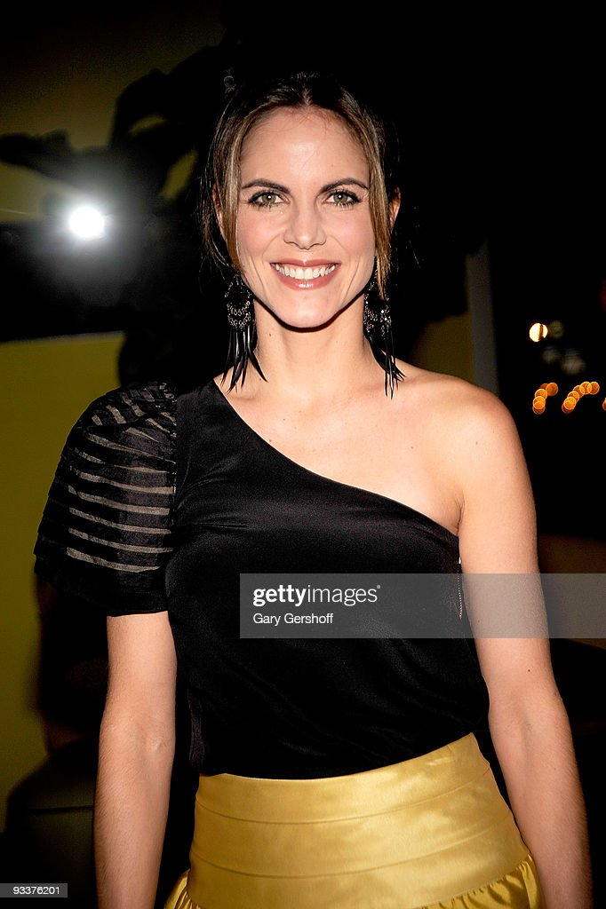NBC 'Today Show' anchor Natalie Morales attend Al Roker's 'The Morning Show Murders' book launch celebration at SushiSamba 7 on November 24 2009 in...