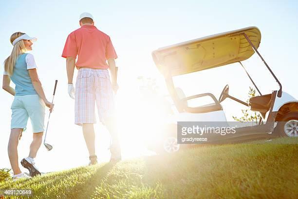 Heutige golf war großartig!