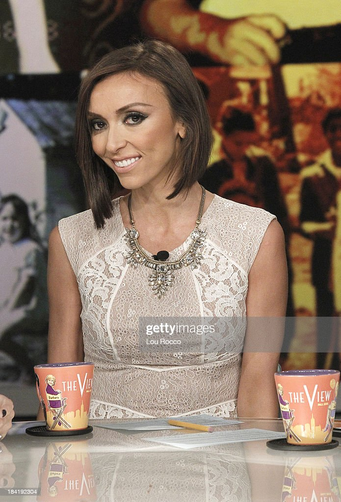 THE VIEW - (10.10.13) Today's guest co-host Giuliana Rancic. Guests include the cast of ABCs 'Good Morning America' and musician John Legend.. 'The View' airs Monday-Friday (11:00 am-12:00 pm, ET) on the ABC Television Network. RANCIC