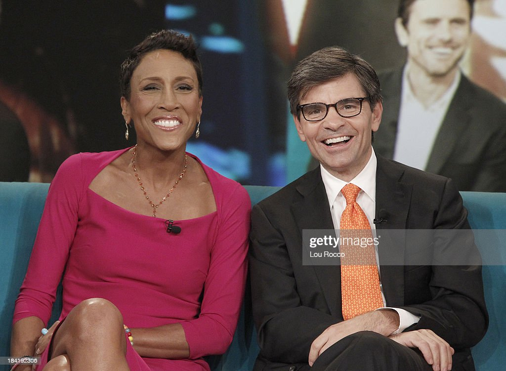 THE VIEW - (10.10.13) Today's guest co-host Giuliana Rancic. Guests include the cast of ABCs 'Good Morning America' and musician John Legend.. 'The View' airs Monday-Friday (11:00 am-12:00 pm, ET) on the ABC Television Network. STEPHANOPOULOS