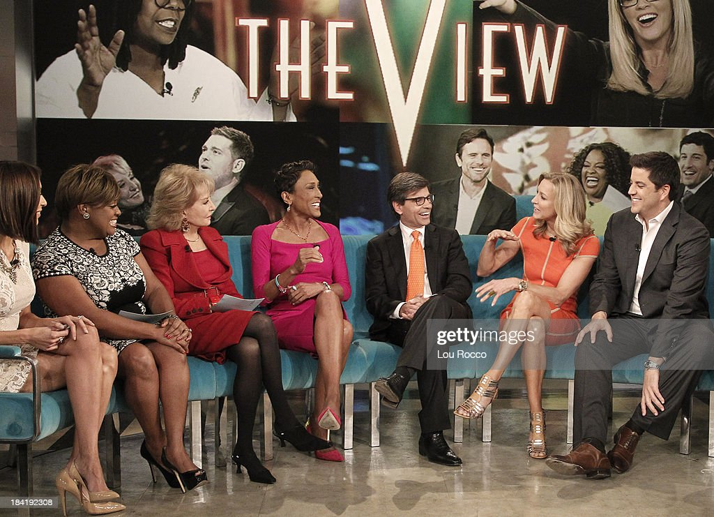 THE VIEW - (10.10.13) Today's guest co-host Giuliana Rancic. Guests include the cast of ABCs 'Good Morning America' and musician John Legend.. 'The View' airs Monday-Friday (11:00 am-12:00 pm, ET) on the ABC Television Network. ELLIOTT
