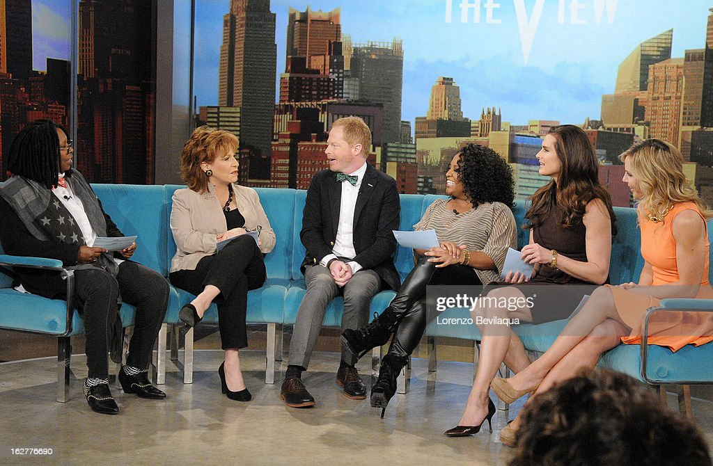 """THE VIEW - (2.26.13) Today's guest co-host is Brooke Shields (""""Army Wives""""), while Jesse Tyler Ferguson (ABC's """"Modern Family"""") and Kate Gosselin (ABC's """"Celebrity Wife Swap"""") are guests. """"Year of the Viewer -- How Funny Are You? -- Hilarious Teachers"""" contest continues with guest judge Mario Cantone. 'The View' airs Monday-Friday (11:00 am-12:00 pm, ET) on the ABC Television Network. HASSELBECK"""