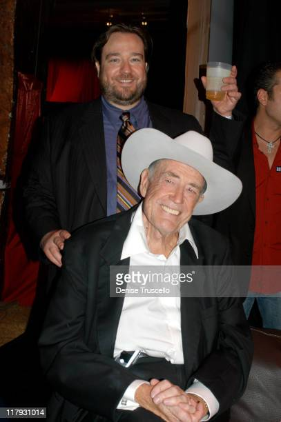 Todd and Doyle Brunson during Doyle BrundsonPamela Anderson Party to Launch PamelaPokercom at The Bellagio Hotel and Casino Resort in Las Vegas Nevada