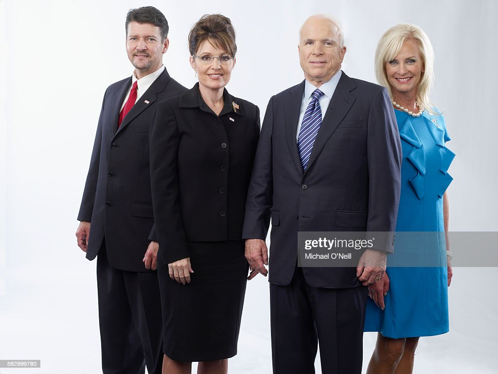 Todd and Sarah Palin with John and Cindy McCain