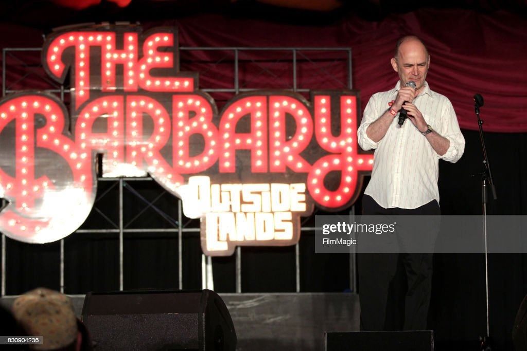Todd Barry performs on The Barbary Stage during the 2017 Outside Lands Music And Arts Festival at Golden Gate Park on August 12, 2017 in San Francisco, California.
