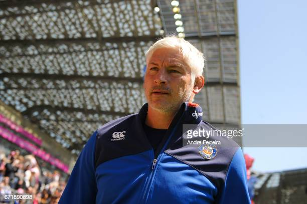 Todd Blackadder coach of Bath during the European Challenge Cup semi final between Stade Francais and Bath on April 23 2017 in Paris France