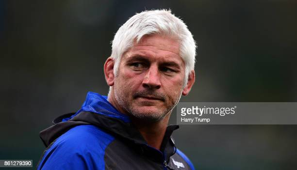 Todd Blackadder Head Coach of Bath Rugby looks on during the European Rugby Champions Cup match between Bath Rugby and Benetton Rugby at Recreation...