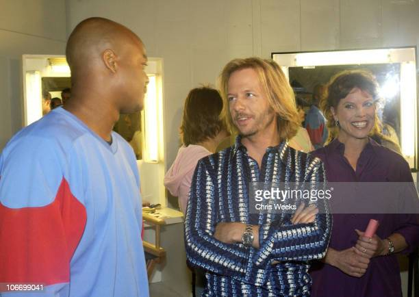 Todd Bridges David Spade Erin Moran during David Spade and CoStars from Paramount Pictures' 'Dickie Roberts Former Child Star' Tape Hollywood Squares...