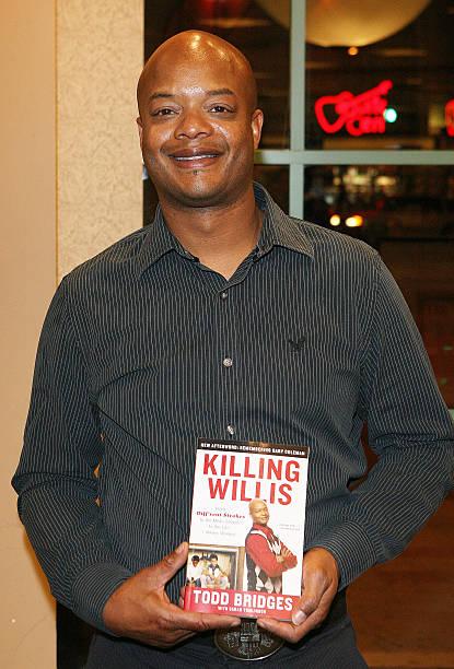 Todd Bridges Signs Copies Of His Autobiography 'Killing Willis'
