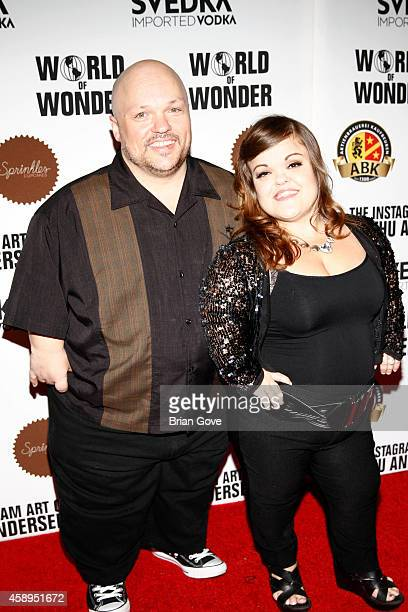 Todd Christy from Little Women of LA attend the instagram art of Mathu Andersen exhibition opening party at World Of Wonder on November 13 2014 in...