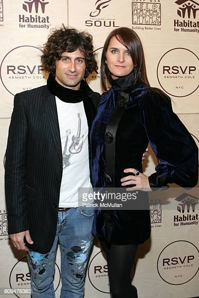 Todd DiCiurcio and Megan DiCiurcio attend Jon Bon Jovi and Kenneth Cole Team Up For An Unforgettable Night of Fundraising At 'RSVP To Help' at...