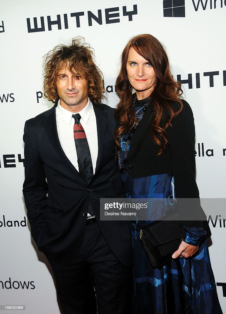 Todd DiCiurcio and Megan DiCiurcio attend the 2012 Whitney Museum Of American Art Studio Party at The Whitney Museum of American Art on December 11, 2012 in New York City.