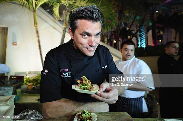 Todd English attends CASAMIGOS Tequila presents Tacos After Dark hosted by Aaron Sanchez during the 2015 Food Network Cooking Channel South Beach...