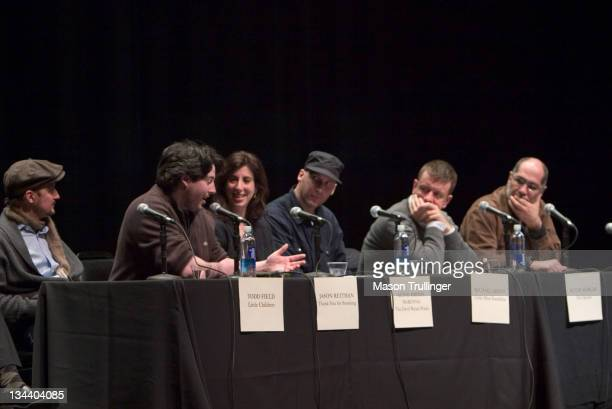 Todd Field Jason Reitman Aline Brosh McKenna Michael Arndt Peter Morgan and Guillermo Arriaga